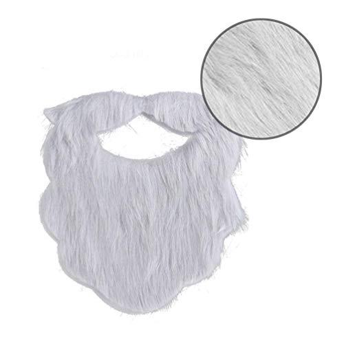 Grau Assistent BART Und Schnurrbart - Cavose Gesicht Schnurrbart Kostüm Zubehör Selbstklebende