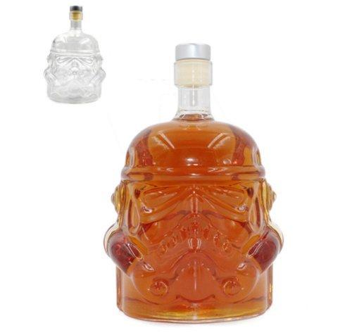 Infinitely Great Home Decor Center 650 ML Star Wars Stormtrooper Dekanter Wein Whisky Alkohol Alkohol Glasflasche