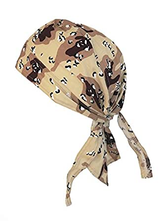 bandana cap kopftuch camouflage hellbraun. Black Bedroom Furniture Sets. Home Design Ideas