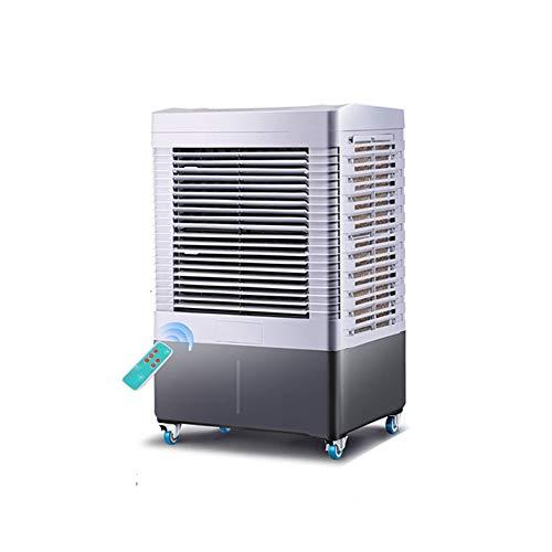 LRHYG - Verdunstungskühler Luftkühler Mobile Klimaanlage Klima Ventilator Luftbefeuchter Luftreiniger 6000 M3 / H Hohes Luftvolumen 40L Großer Wassertank Remote-Timing (Farbe : Remote Control)
