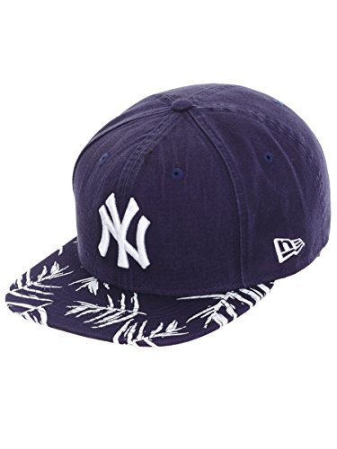 A New Era Snapback 9FIFTY Sandwash Sucher Print York Yankees Cap, Herren, Dunkelblau, SM