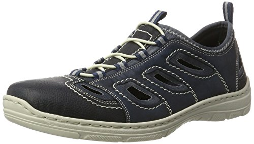 Rieker Herren 15285 Low-Top, Blau (Ozean/Pazifik/Denim / 14), 45 EU