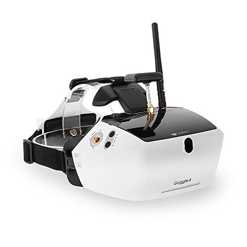 """Goolsky Walkera Goggle 4 FPV Live Übertragung 40CH Luft videobrille mit Doppelempfangsantennen 5 """"HD großen Bildschirm für Runner 250 F210 Rodeo 150 Furious 320 Racing Drohne"""