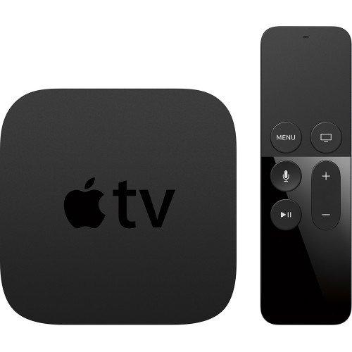 HIDEit Support pour boîtier Apple TV HIDEit ATV4 Mount Noir
