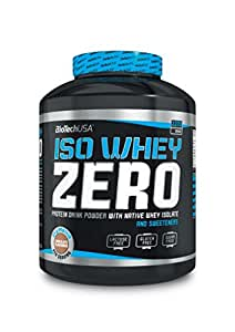 Biotech USA 10002010210 Isowhey Zero Lactose Free Protéine Saveur Chocolat