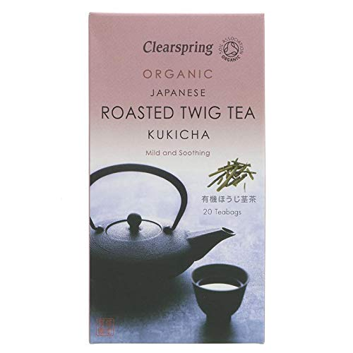 Clearspring | Kukicha; Roasted Twig Tea | 6 X 20 Bags