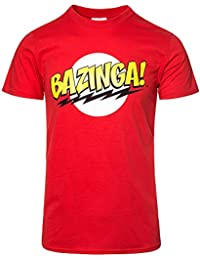Officially Licensed Merchandise Bazinga Super Logo Girly Tee