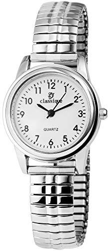 Classique Damen-Uhr Zugarmband Metall Analog Quarz 1700019-001 -