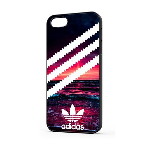 Personalizzati iphone 5/5s/se cover [ldafglh619241][adidas logo tema] cover per iphone 5/5s/se [color/nero]