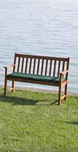 VARILANDO 2-Sitzer Auflage für eine Gartenbank in grün Bank-Auflage Bank-Sitzpolster