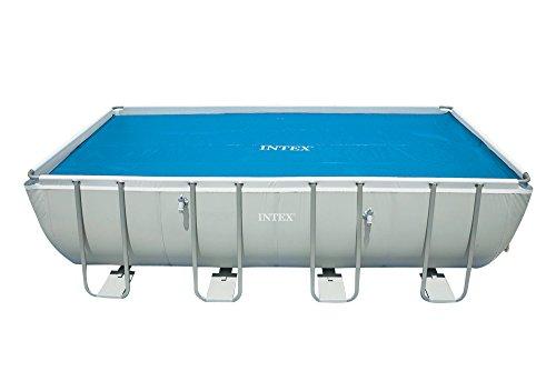 Intex Solarplane Pool-Abdeckung für eckigen Frame Pool 7,32x3,66m