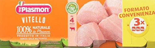 Plasmon omogeneizzato di carne, vitello - 24 vasetti da 80 gr