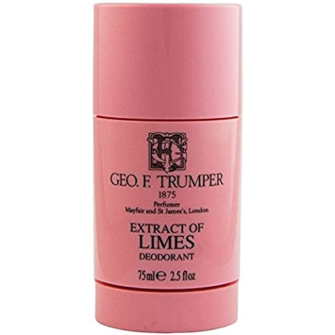 Geo F Trumper Extract of Limes Deodorant Stick 75ml