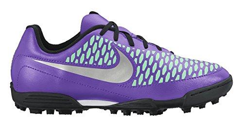 Nike Jr Magista Ola Ic, chaussures de sport fille Violet / bleu / gris (hyper raisin / argenté métallique - violet Dynasty)