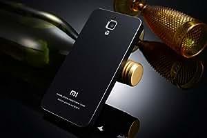 Excelsior Premium Full Metal/Aluminium Back Replacement Cover for Xiaomi Mi4 - Black