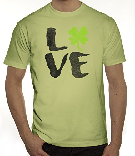 Saint Patrick´s Day St. Patricks Day Herren T-Shirt Love St. Patricks Day Limone