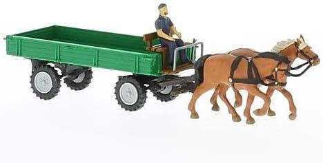 remorque vagon, vert, 1956, voiture miniature, Miniature déjà déjà déjà montée, Mehlhose 1:87 | Doux Et Léger  16c034