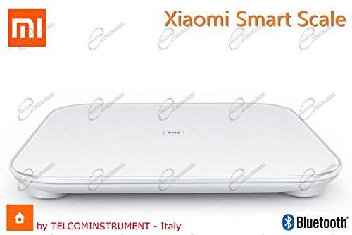 Xiaomi x6682;x65E0 Smart, báscula con Bluetooth 1 W, 1 V, Blanco 30x30x2.8 centimeters