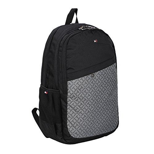 Best tommy hilfiger backpack in India 2020 Tommy Hilfiger 19.53 Ltrs Black Laptop Backpack (TH/BIKOL01VIS) Image 2