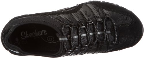 Skechers Bikers-In-Crowd, Chaussures basses femme Noir (Blk)