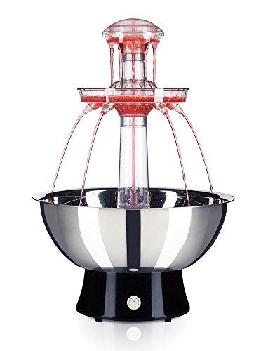 Fontaine à boisson   mousseux, cocktails, punch, vin (4L, LED, 51 cm)