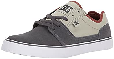 DC Men's Tonik Skate Shoe, Grey Ash, 10 D D US