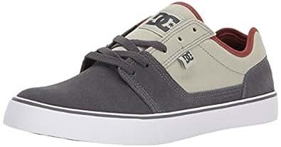 DC Men's Tonik Skate Shoe, Grey Ash, 10 D D US