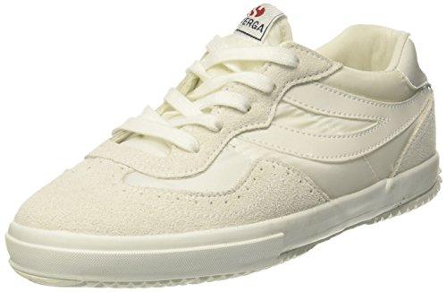 Superga 2832 Nylu Unisexe-Adultes Baskets Blanc