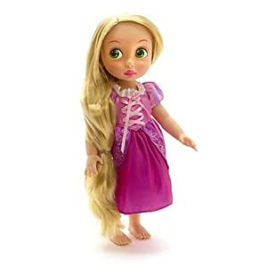 Disney Store Animators' Collection RAPUNZEL Toddler Doll Ht 16in