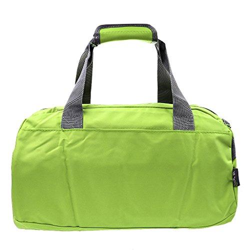 Sharplace Portatile Impermeabile Borsa Tracolla Sacchetto per Viaggio Esercizio Bagaglio Casuale Verde