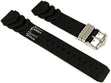 Original Citizen Correa de Reloj caucho para Promaster Diver Aqualand JP1010-00E Dekompressionstabelle 20 mm