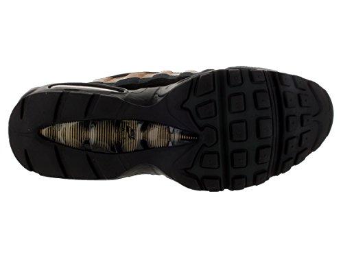 Nike Herren Air Max 95 Prm Laufschuhe, Beige, Talla Schwarz / Gold / Schwarz (Schwarz / Schwarz-Gold Anthrct Mtllc)