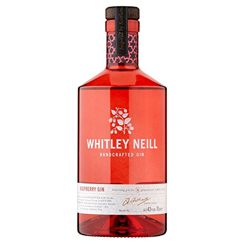 e-Books Collections: Whitley Neill Handcrafted Dry Gin Raspberry Gin 70cl