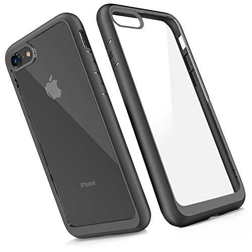 84b4dd531be iPhone 7 Case Silicone, iPhone 8 Case Clear, Slynmax iPhone 8 Phone Case  Grey