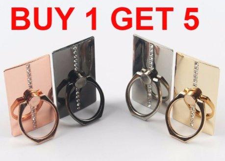 q4u ® 5x universal soporte para teléfono de lujo de metal inoxidable...