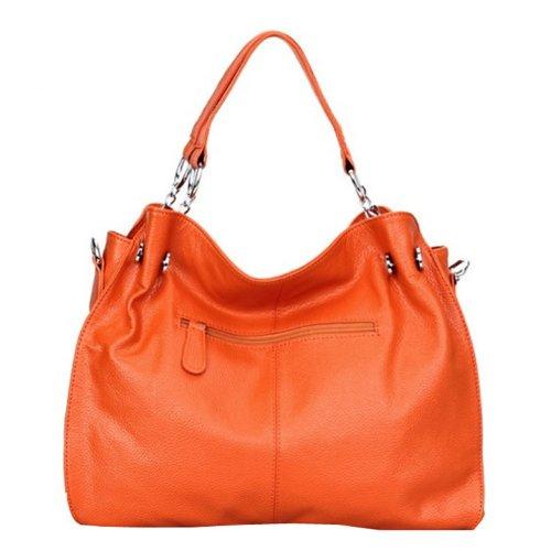 Dissa Q0217 donna Borse a spalla,Borse a tracolla38x28x14 cm (B x H x T) Orange