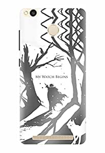 Noise Printed Back Cover Case for Redmi 3S Prime / 3s Plus Designer Case cover / Patterns & Ethnic / Game Of Thrones Design - By Noise - (GD-64)
