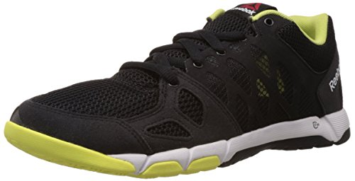 Reebok One Trainer 2.0 scarpa da ginnastica, da uomo - Nero / lime