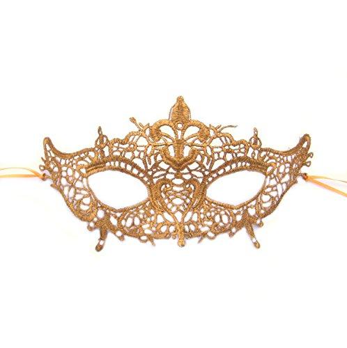 Antoinette Lace Masquerade Maske von Samantha Peach ()