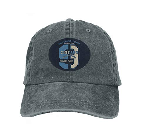 Vintage Trend Printing Cowboy Hat Fashion Baseball Cap for Men and Women Superior Team Chicago national Champion Graphic Print