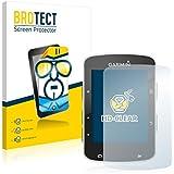 2x BROTECT HD-Clear Protector Pantalla Garmin Edge 520 Película Protectora – Transparente, Anti-Huellas