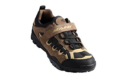 Massi Canyon - Chaussures VTT unisexe, couleur noir, taille 38