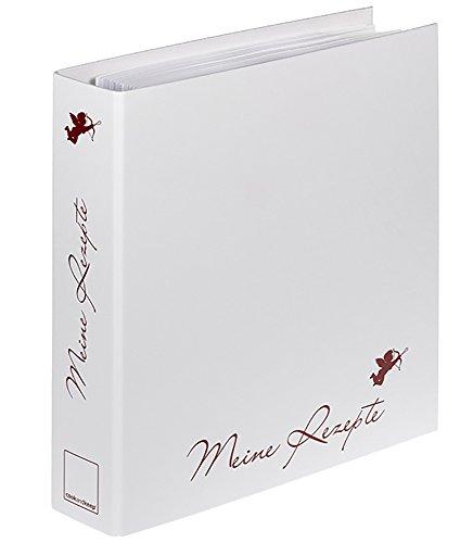 cookandkeep Rezeptordner A4 24-teiliges Themen-Register Kochordner Mit Platz für 400 Seiten