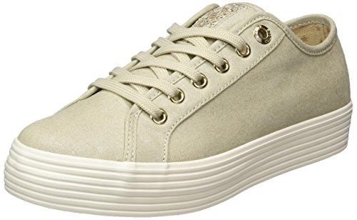 s.Oliver Damen 23622 Sneaker, beige (champagner), 42 EU