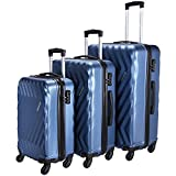 Best Luggage Sets - Nasher Miles Lombard Hard-Side Luggage Set of 3 Review