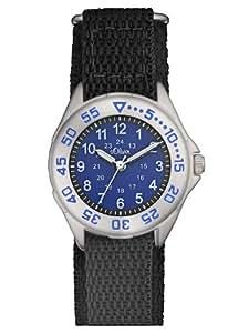 s.Oliver Jungen-Armbanduhr Casual Analog Quarz Textil SO-2528-LQ