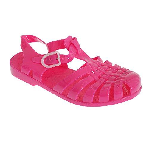Sandales de plage - Fille Fuschia
