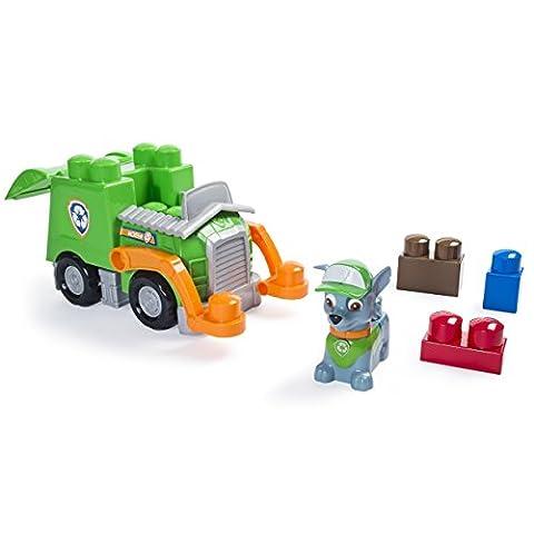 ROCKY Recycling Truck PAW PATROL Voiture 25cm IONIX Jeu Construction Pat' Patrouille