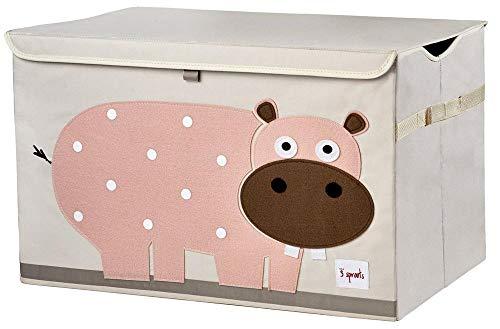 3 Sprouts Hipopótamo - Arcón juguetes