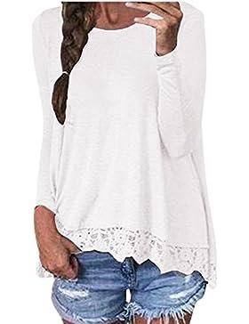 ZANZEA Magliette Donna T-Shirt